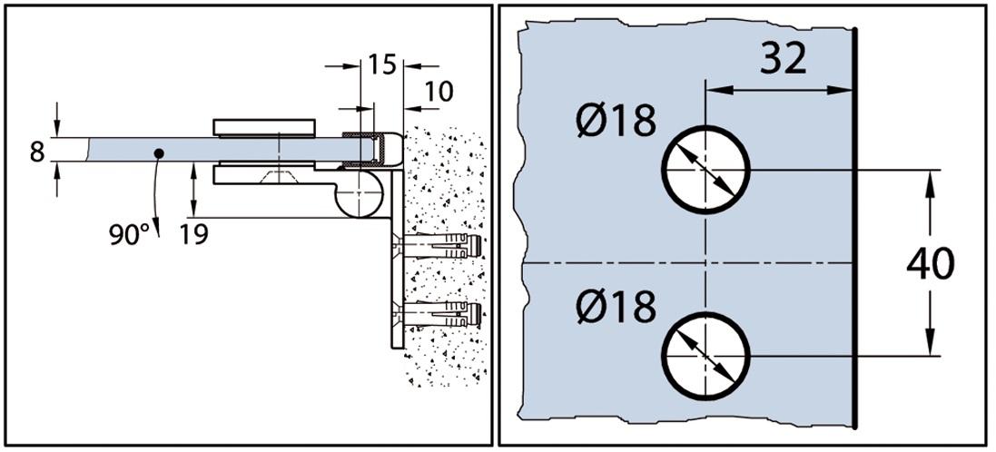 duscht duscht rband wellness premium 90 nach innen ffnend din richtung rechts. Black Bedroom Furniture Sets. Home Design Ideas